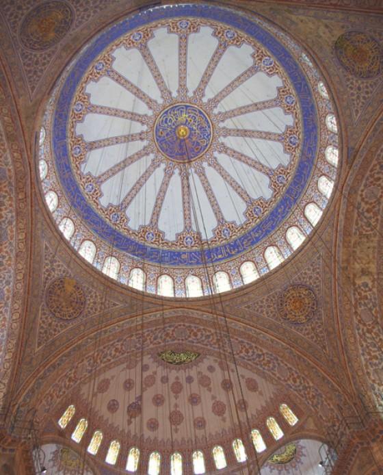 Blaue Moschee innen