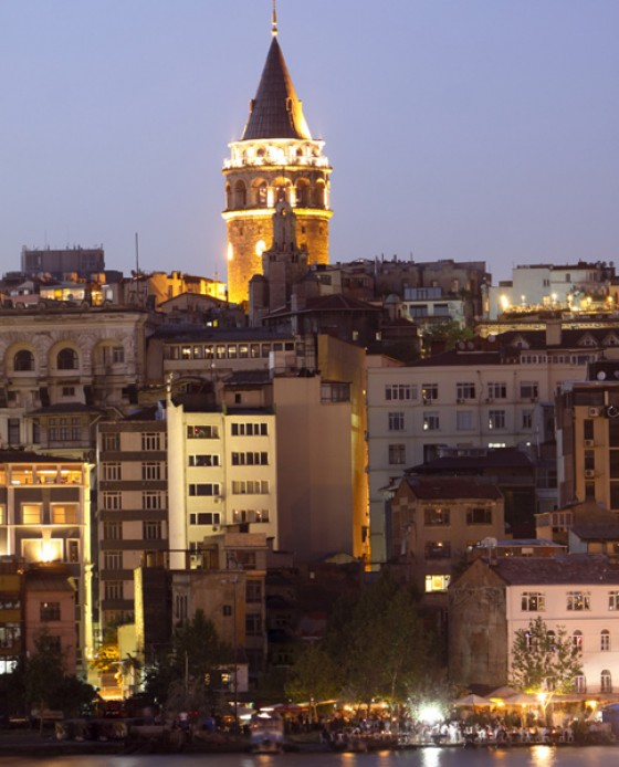 Galata Turm und Beyoglu