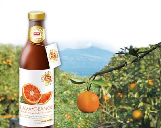 REWE Feine Welt Lava Orange