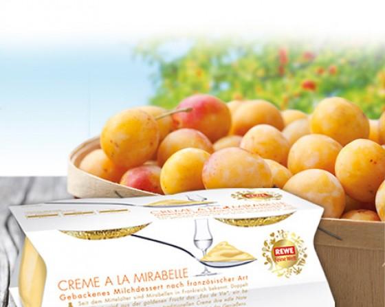 REWE Feine Welt Crème à la mirabelle