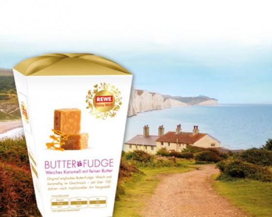 REWE Feine Welt Butter Fudge