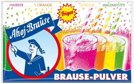 Bunt, bunter, am buntesten: Prickelnde Ahoi Brause von Frigeo ist damals wie heute ein beliebter Dauerbrenner. Und das für Jung und Alt.