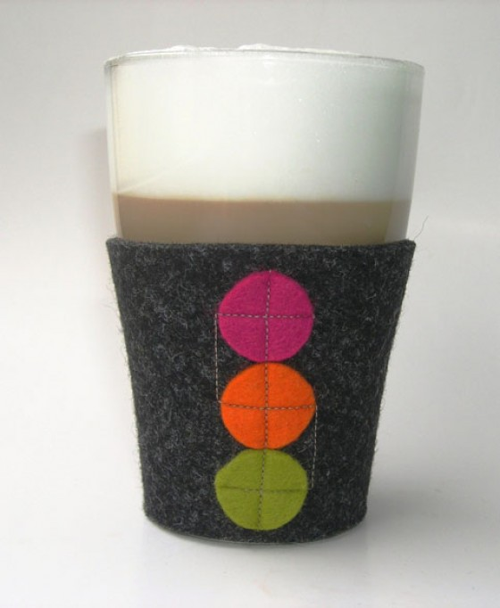 Dawanda Latte Macchiato Glashülle