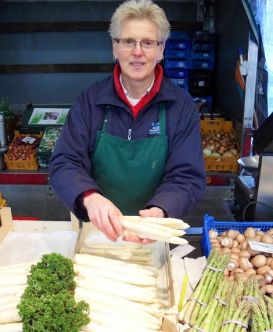 Spargel aus Süddeutschland Isemarkt