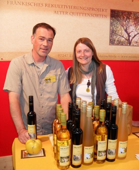 Slow Food 2011 Quitten Wein