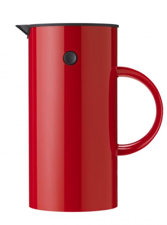 Kaffeekochen in Rot: Stelton