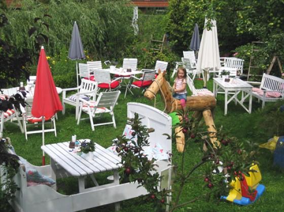 Gartencafé Süderdeich Schleswig Holstein