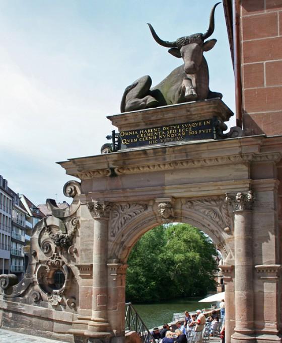 Der steinerne Ochs in Nürnberg