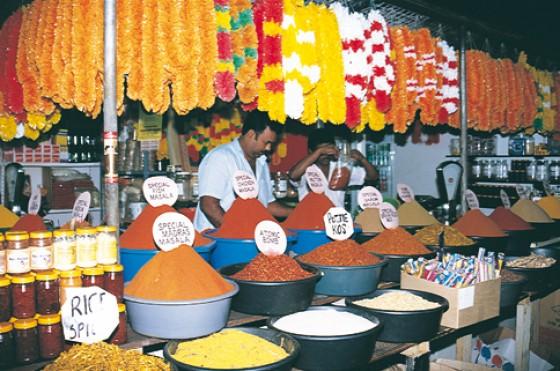 Indischer Markt in Durban