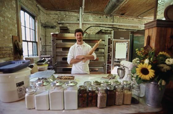 Historische Bäckerei in der Distillerie