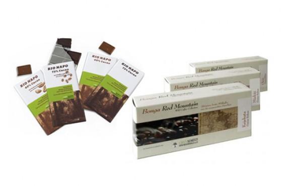 Wildkaffee und Waldschokolade