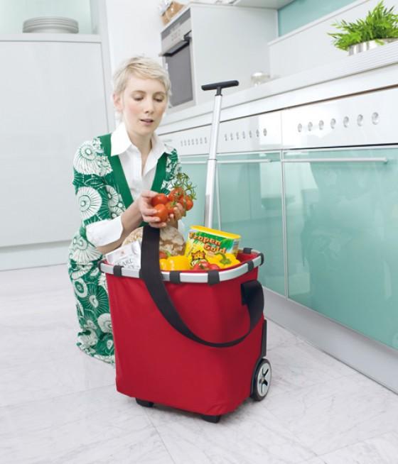 Einkaufstasche Carrycruiser Iso red