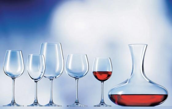 Gläser und Karaffen für Bordeauxgenuss