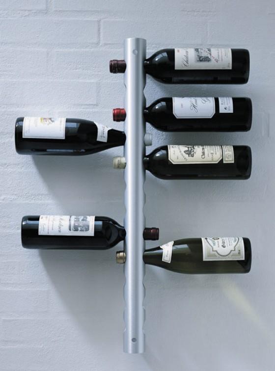 Zum Einstecken: Weinregal