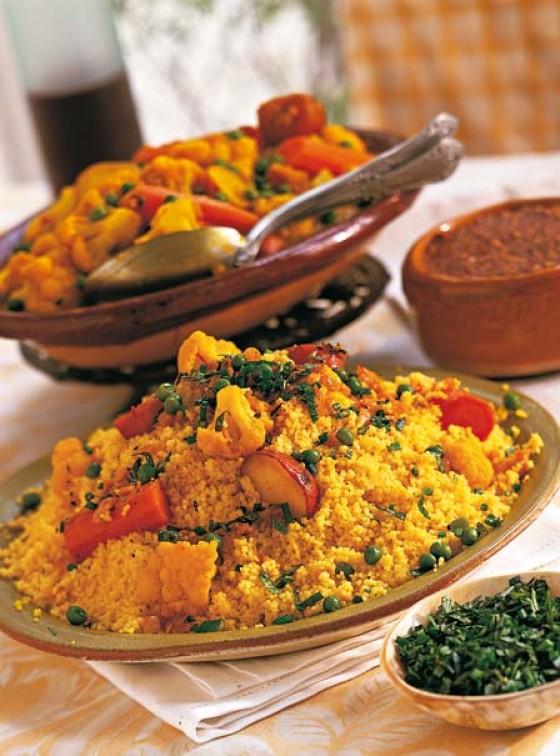Nordafrika: Gemüse-Couscous