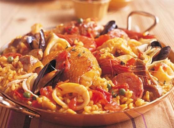 Spanien: Paella