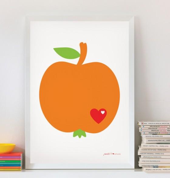 Apfelposter byGraziela