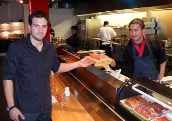 Restaurant Henssler und Henssler Hamburg Peter Henssler und Sushikoch