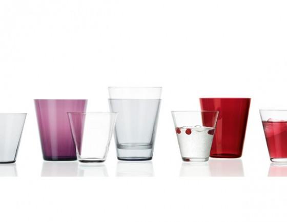 Kartio: Gläser, Karaffen und Vasen