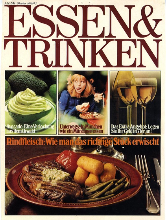 essen & trinken Cover 1972