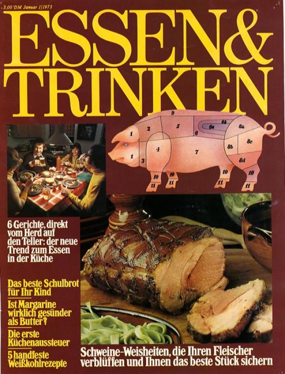 essen & trinken Cover 1973
