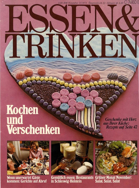 essen & trinken Cover November 1973
