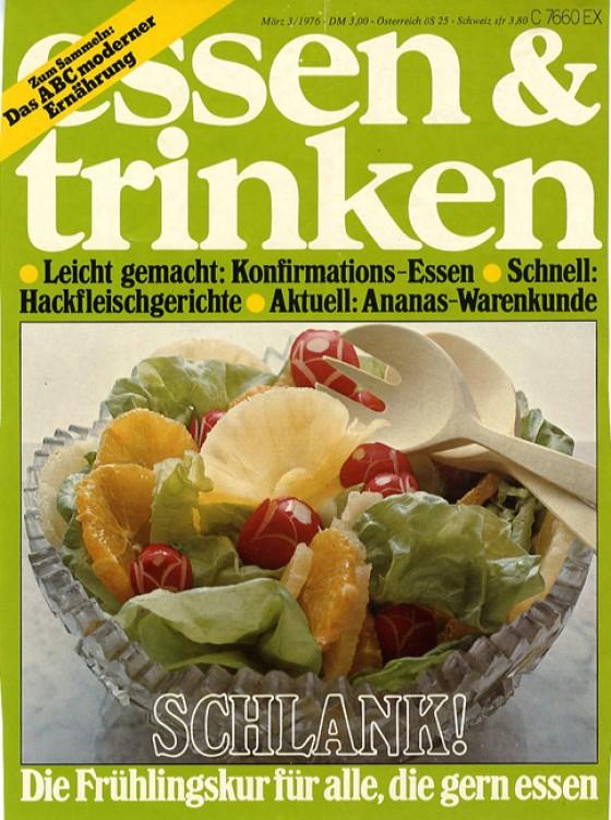 essen & trinken Cover März 1976