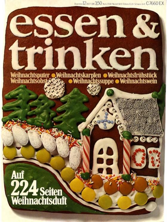 essen & trinken Cover Dezember 1977
