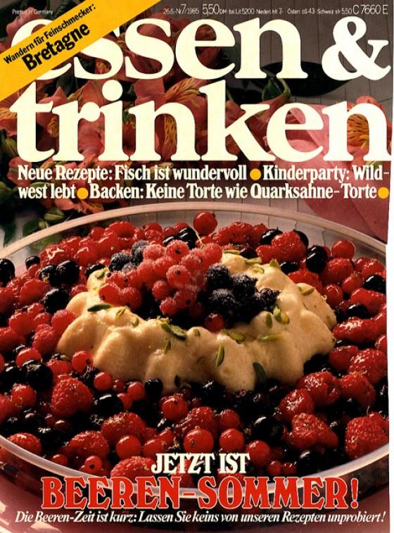 essen & trinken Cover Juli 1985