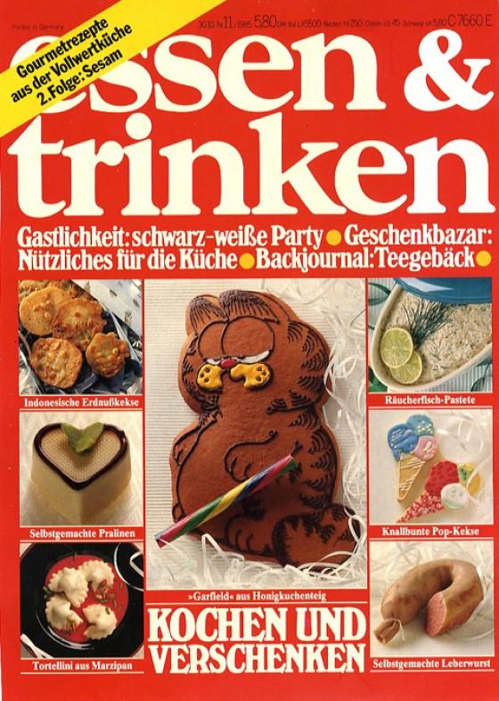 essen & trinken Cover November 1985
