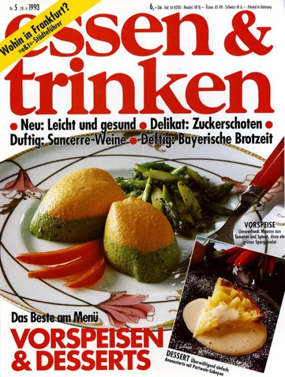 essen & trinken Cover Mai 1993