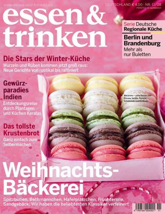 essen & trinken Cover November 2008