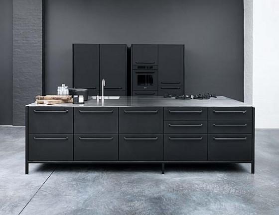 Vipp Küchenmodule in Schwarz