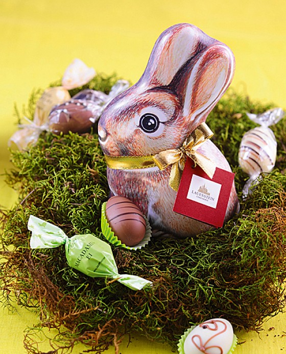 Osterschokolade von Lauensteiner