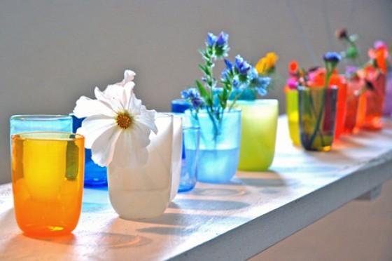 Farbglasbecher von Uschi Ullmann craft2eu
