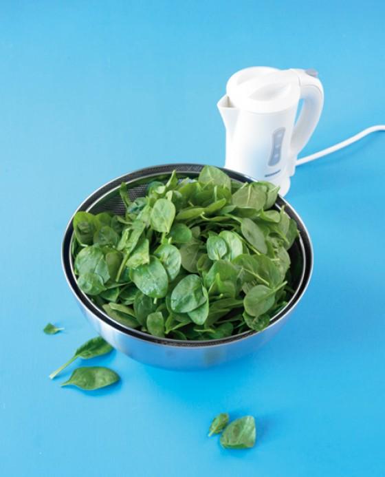 Spinat schonend zubereiten