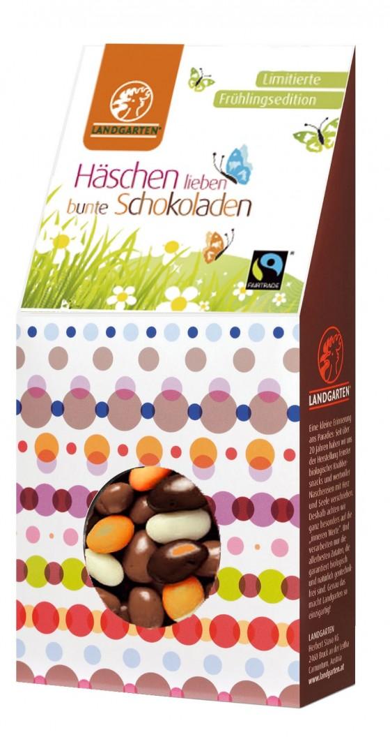 Landgarten Sojabohnen mit Schokolade