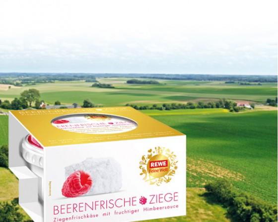 REWE Feine Welt Käse BEERENFRISCHE ZIEGE