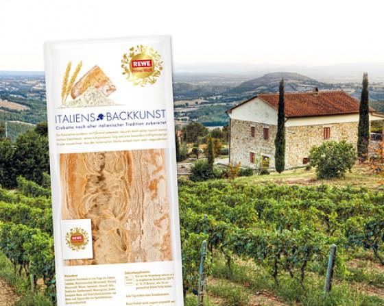 REWE Feine Welt Brot ITALIENS BACKKUNST