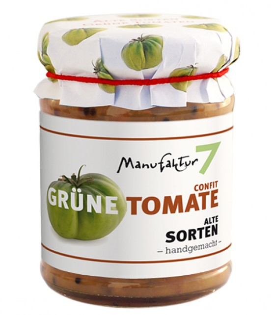 Konfit aus Grünen Tomaten