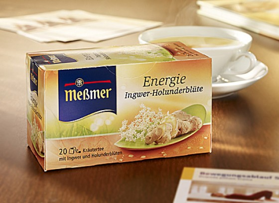 Messmer Ingwer Holunder Tee