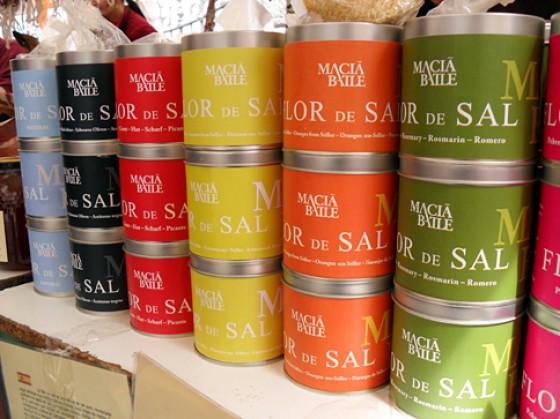 Markt in Soller/ Mallorca - Salz