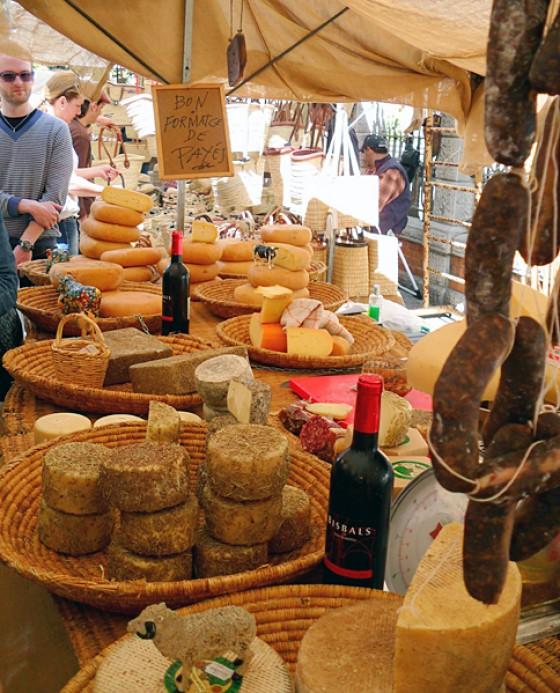 Markt in Soller/ Mallorca - Käse