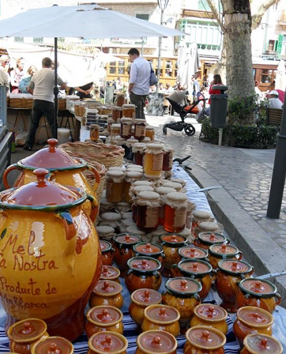 Markt in Soller/ Mallorca - Honig