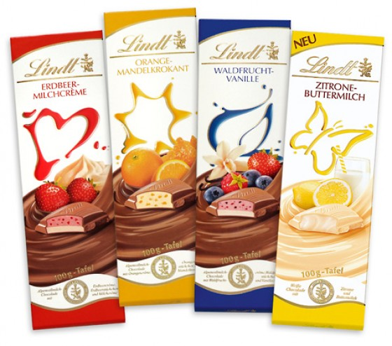 Lindt Buttermilch Zitrone