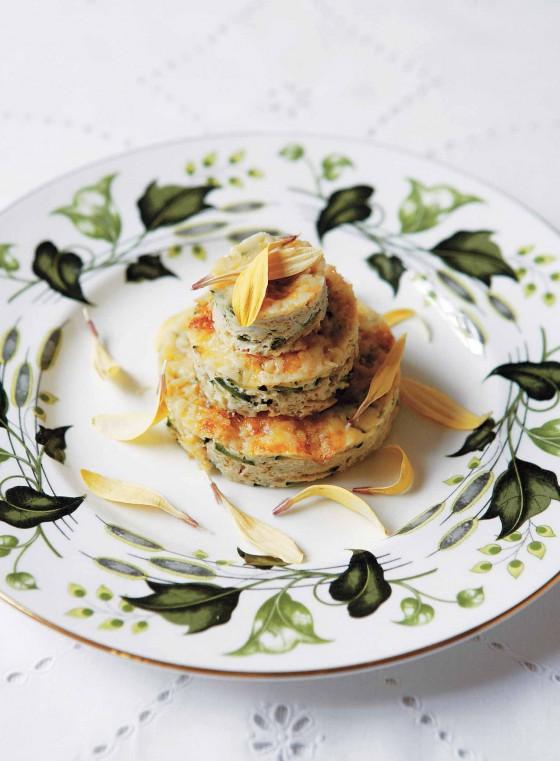 Ausgestochen und aufgeschlagen: Zucchini Frittata