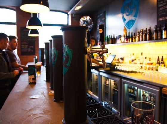 Biertrinken in London: BrewDog