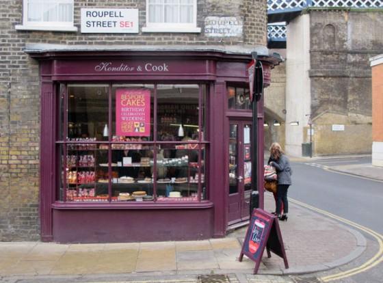 Konditor and Cook: Süßes in Islington