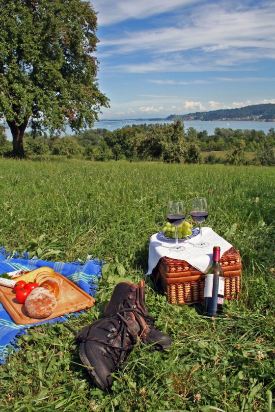Picknick am Untersee