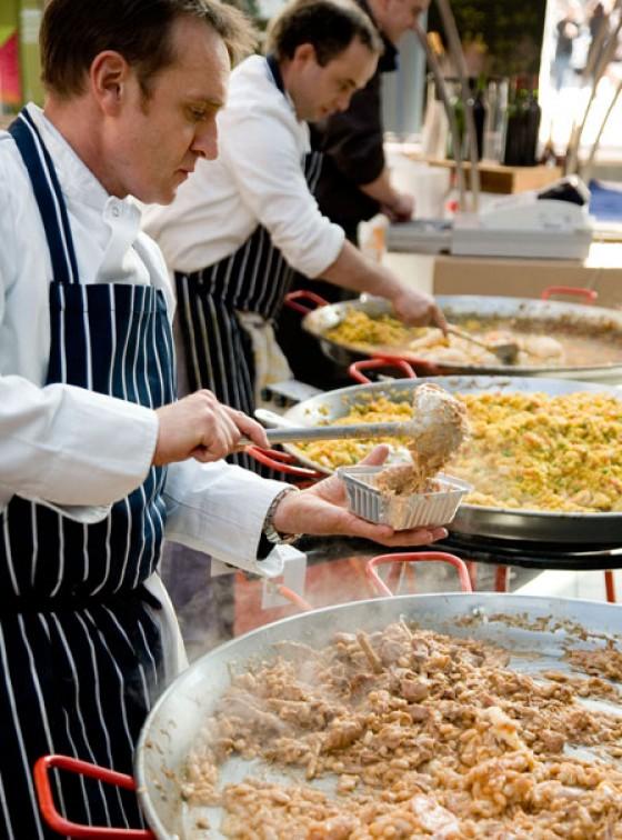 Lebensmittel, Blumen, Antiquitäten: Spitalfields Market